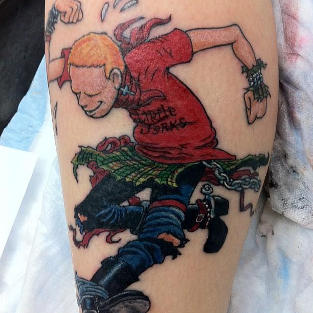Skank tattoo