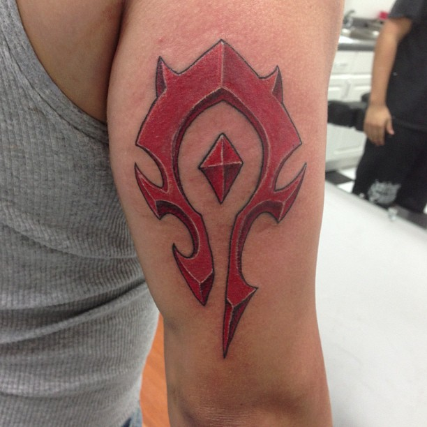 Horde Symbol Fishink Tattoo Here you can find the best horde logo wallpapers uploaded by our community. michael fish fisher