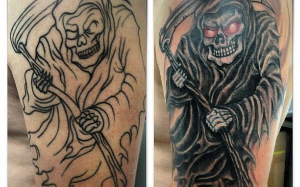 Grim Reaper repair/finish