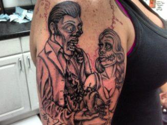 Shading on Zombie Couple