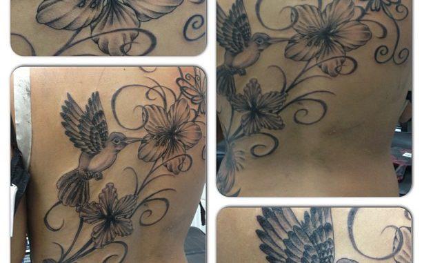 Flowers & Hummingbird Add On