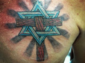 Cross w/ Star of David