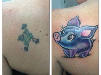 Piggy cover up