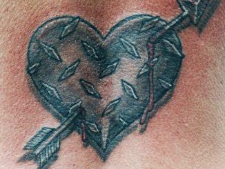 Diamond Plate Heart