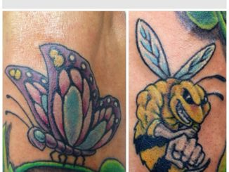 Bad Ass Bee & Flutterby addition