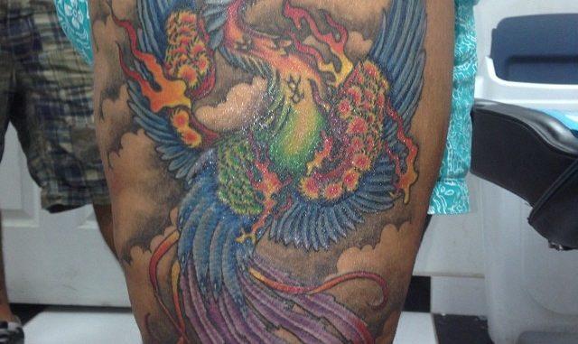 Finished Japanese Phoenix