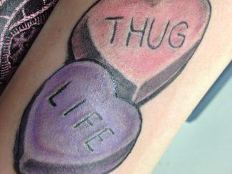 Thug Life Candy Hearts