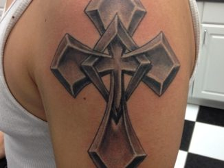 Metal cross