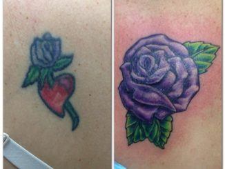 Purple rose cover up