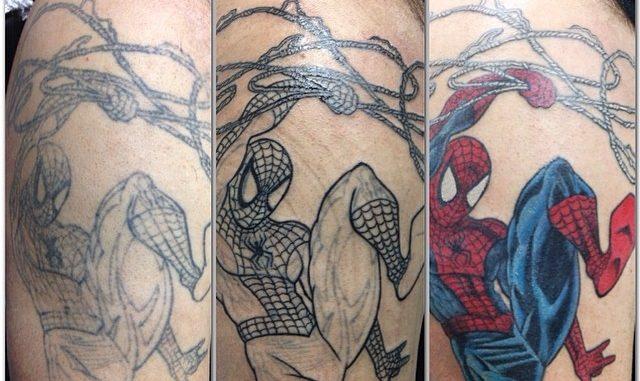 Spider-man repair