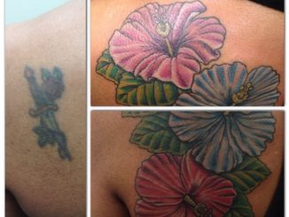 Hibiscus cover up
