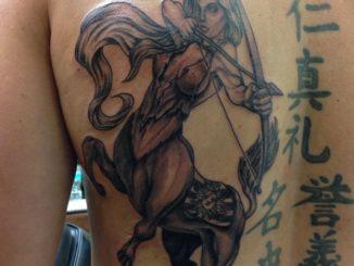 Sagittarius centaur