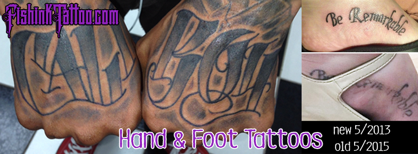 Hand & Foot Tattoos
